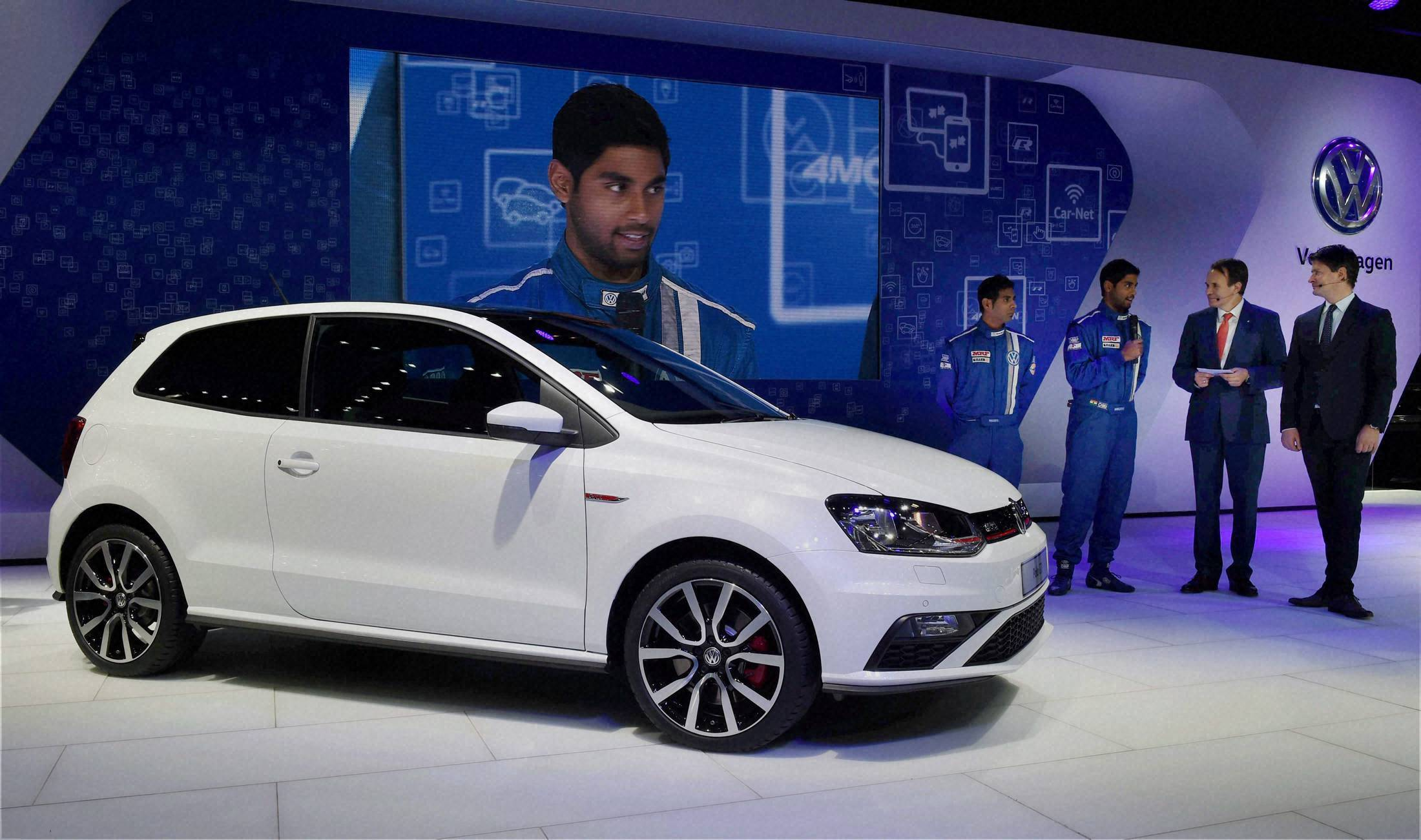 POLO GTI at Auto Expo 2016
