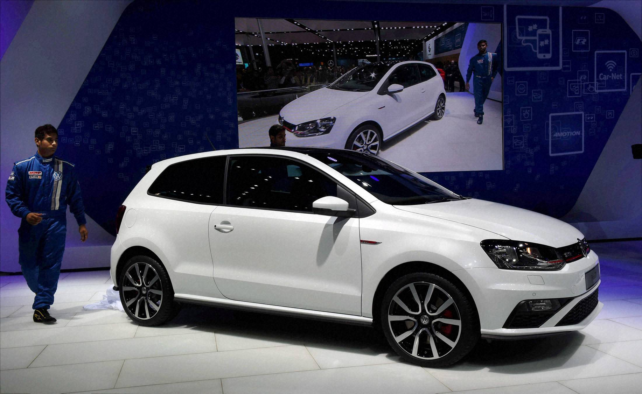 polo gti launch at auto expo 2016 business standard news. Black Bedroom Furniture Sets. Home Design Ideas