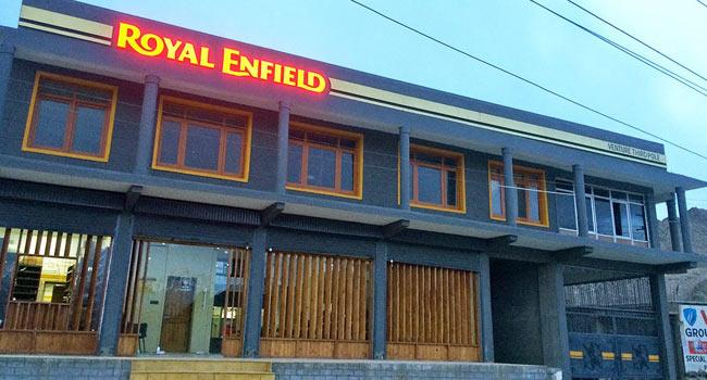Royal Enfield opens Leh service centre