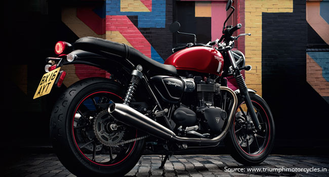 Triumph Motorcycles delivers 100 units of Street Twin in India