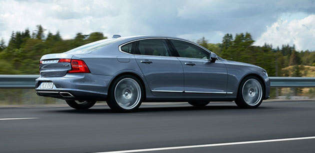 Volvo S90 throws a challenge to German luxury cars