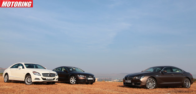 6 Series Gran Coupe Vs CLS Vs A7 - Couped up