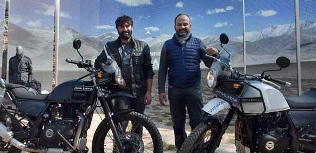 Royal Enfield unveils the Himalayan