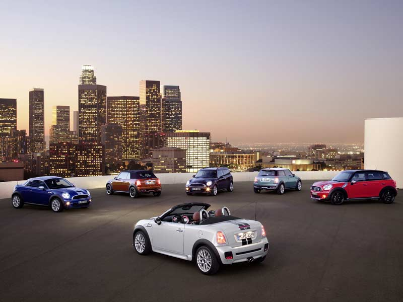 The Mini Range globally includes, apart from the Hatch, Convertible and Countryman - the Roadster, Coupe and Electric versions.