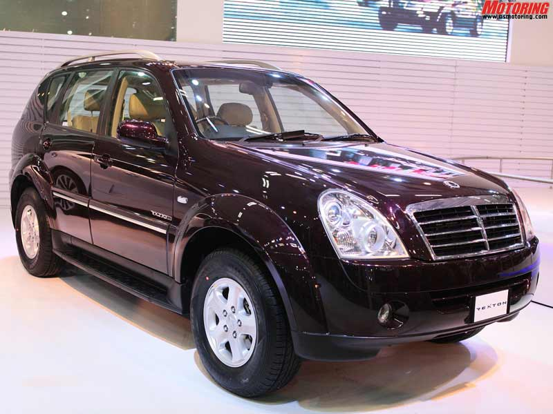 Based on the Mercedes-Benz M-class platform, the Rexton is both refined on the road and capable off it!