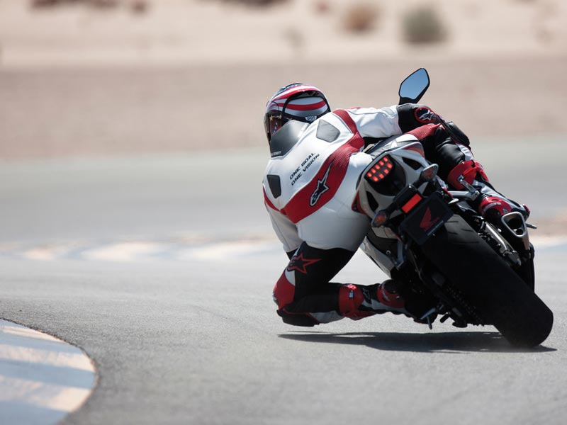 The subtly honed 2012 Fireblade is now the purest of the class, with only a few electronics involved and focus on pure old-school engineering. Its remains one of Europe�s highest selling litre-bikes and continues to show that the Big Red knows what it�s doing.