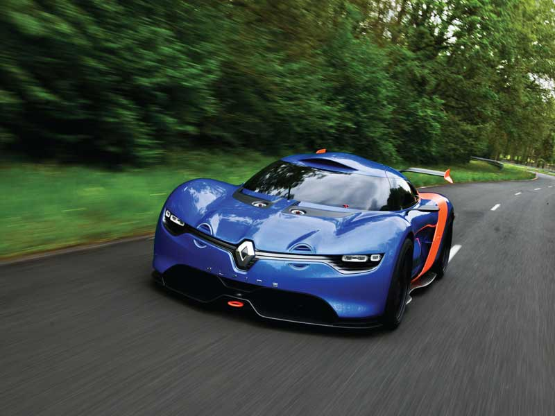 The new Alpine A110-50 concept had a go around the Monaco F1 road course on the race weekend. Fitting, considering the original car won the Monte Carlo rally back in the day.