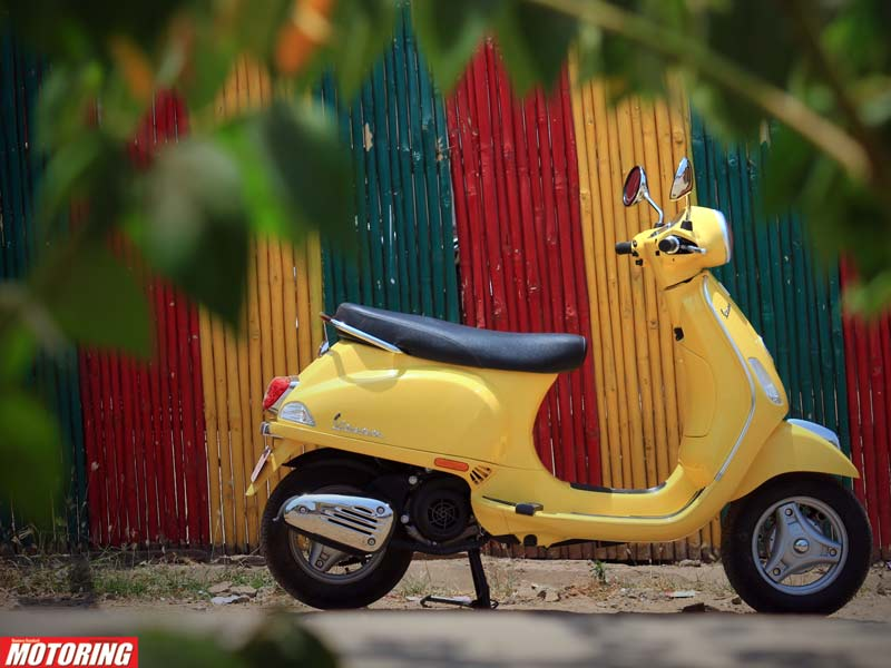 Living with the Vespa