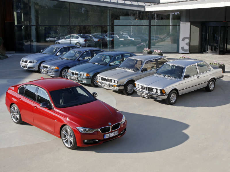 BMW 3 Series through the generations