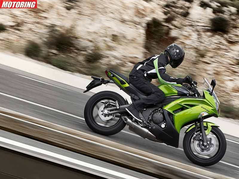 Unlike the new crop of motorcycles, the new Ninja 650 doesn't come with ABS though, so you'll need to watch out a little more.