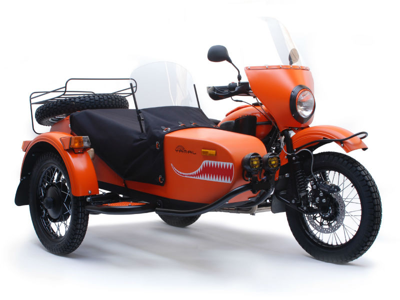 ,Ural Yamal Limited Edition Sidecar Motorcycle