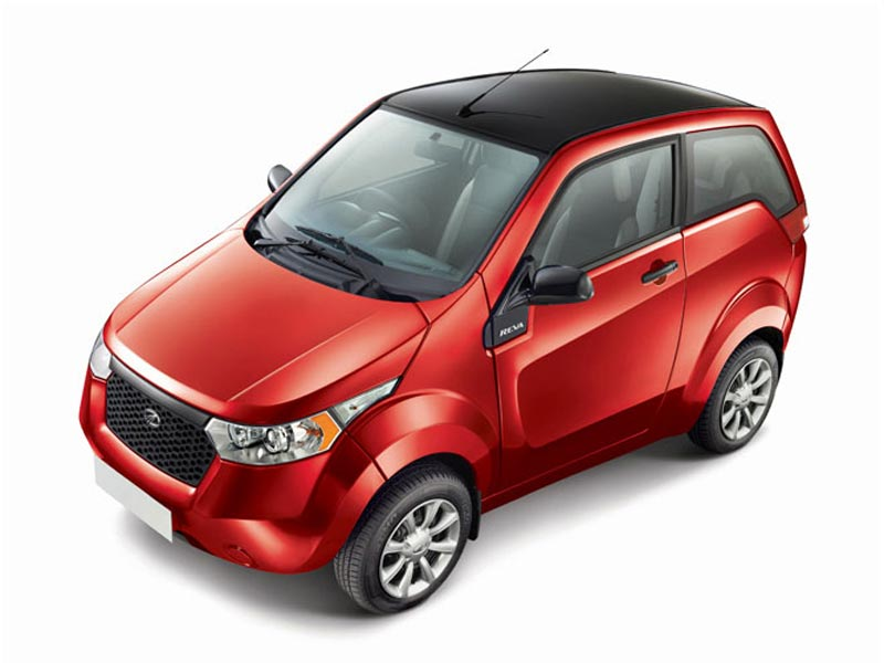 In pictures: Mahindra e2o electric car