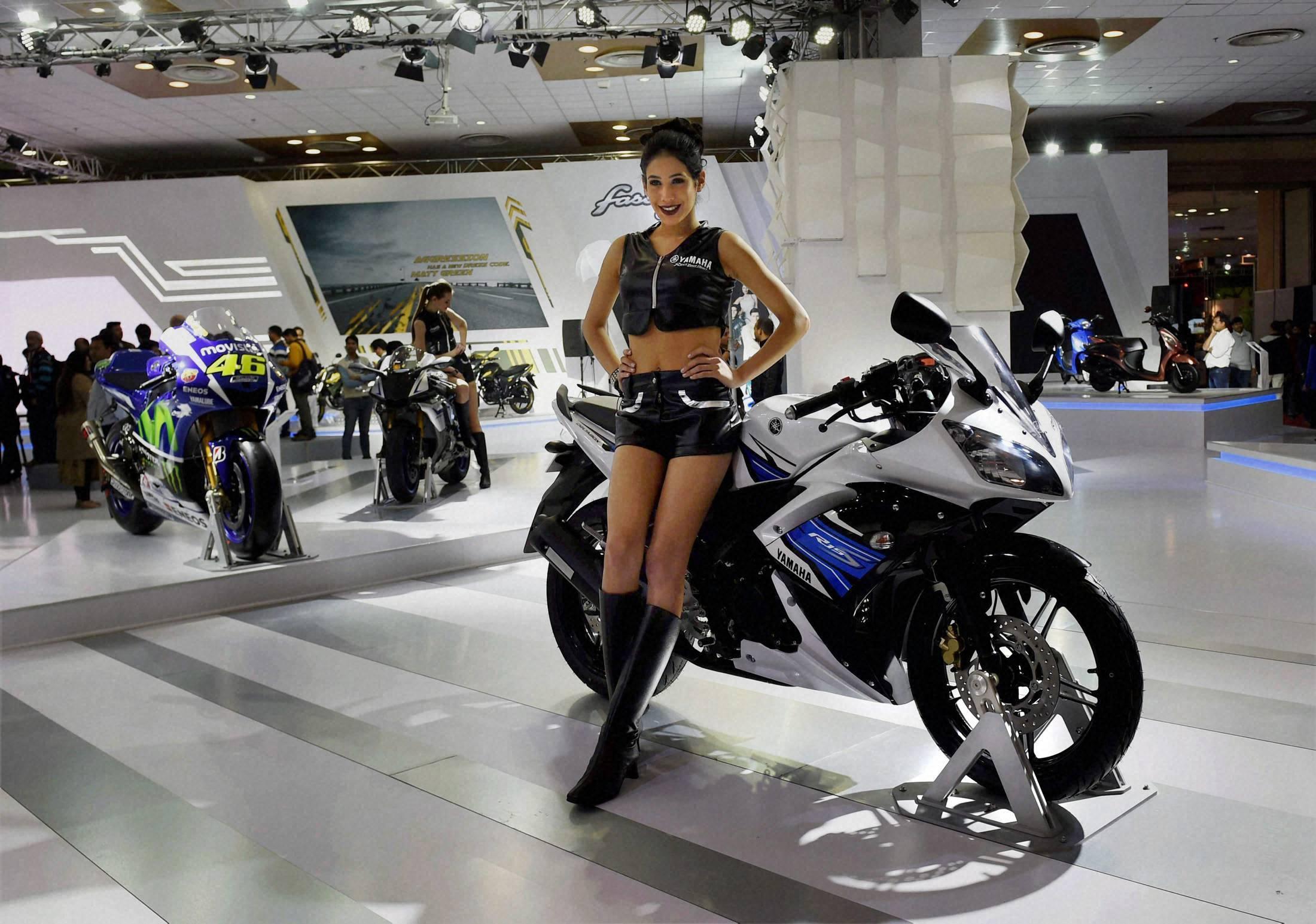 Auto Expo 2016 : Yamaha, Fiat Motor , Mahindra new launches