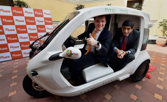 Zbee launches electric vehicle
