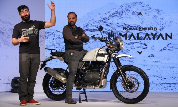 New royal enfield himalayan