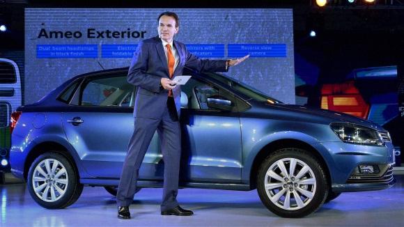 New Volkswagen Ameo car