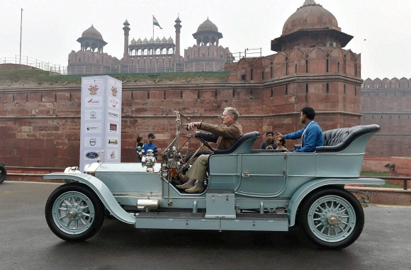 International vintage car rally 2016