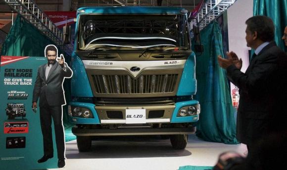 Auto expo 2016 tata and blazo launch of a new heavy commercial vehicles
