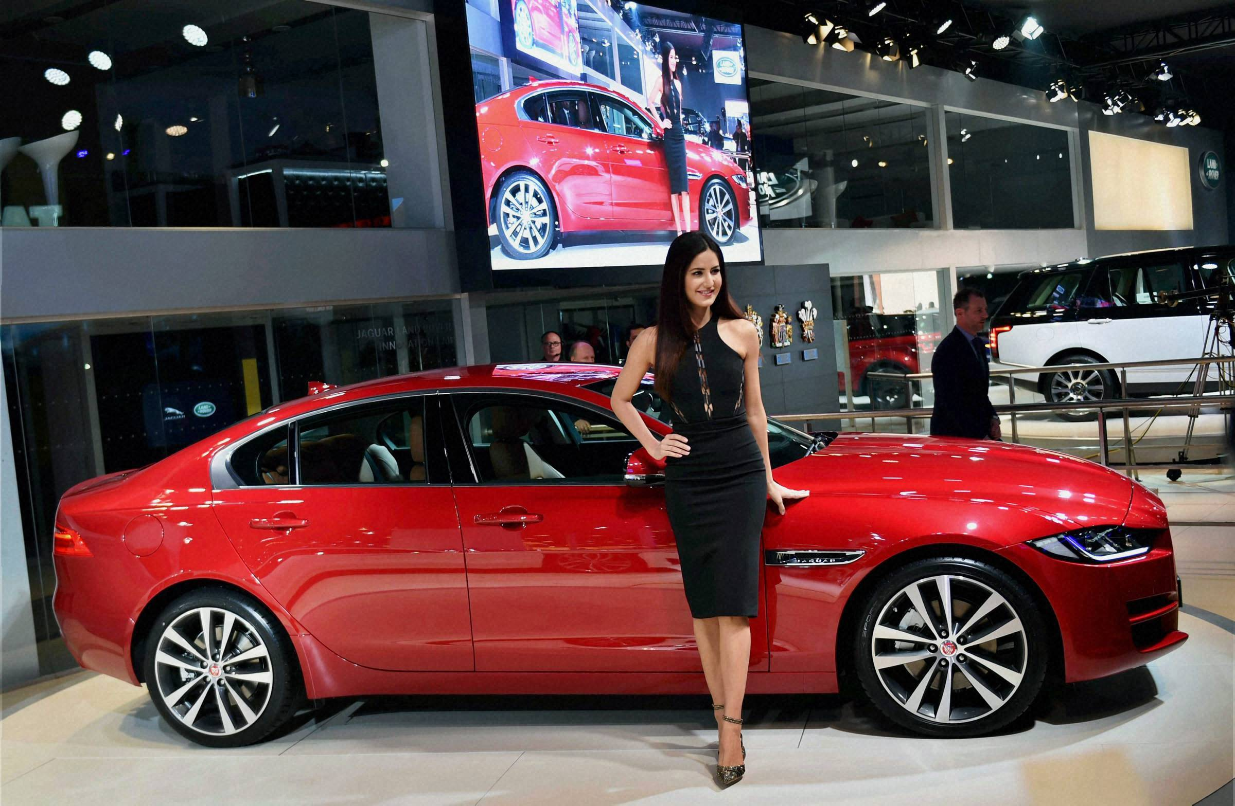 Auto expo 2016 audi and jaguar launch new series