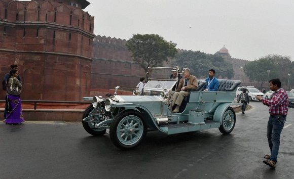 International vintage car rally 2016