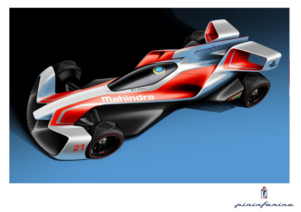 Mahindras new future formula e racing car