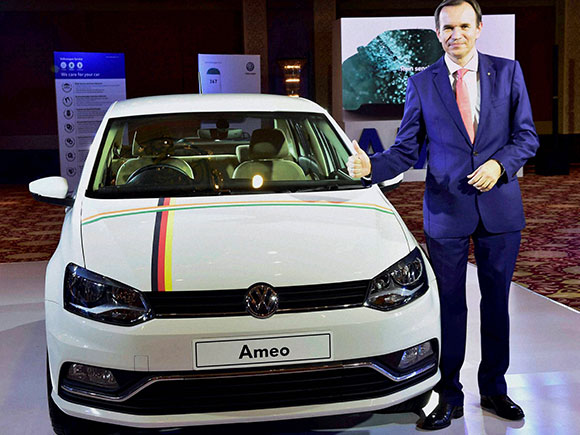 Michael mayer director volkswagen car launches new car ameo