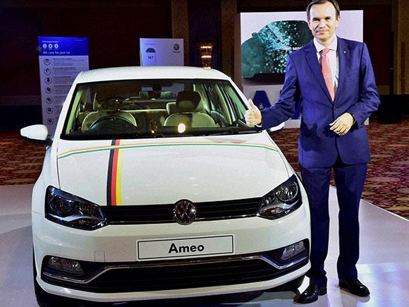Michael Mayer Director Volkswagen car launches new car Ameo