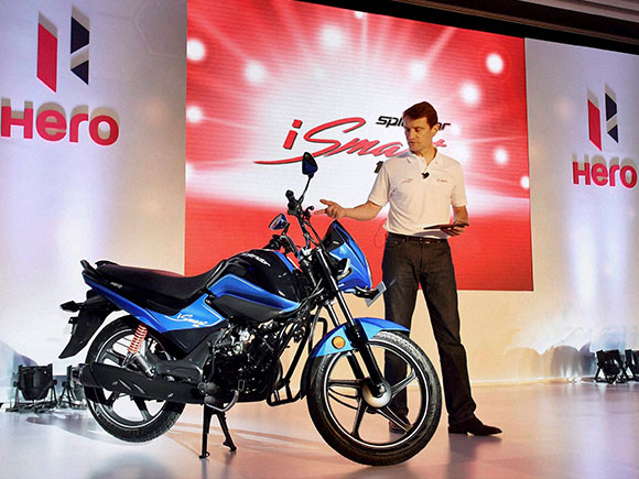 New splendor ismart 110 by hero motocorp