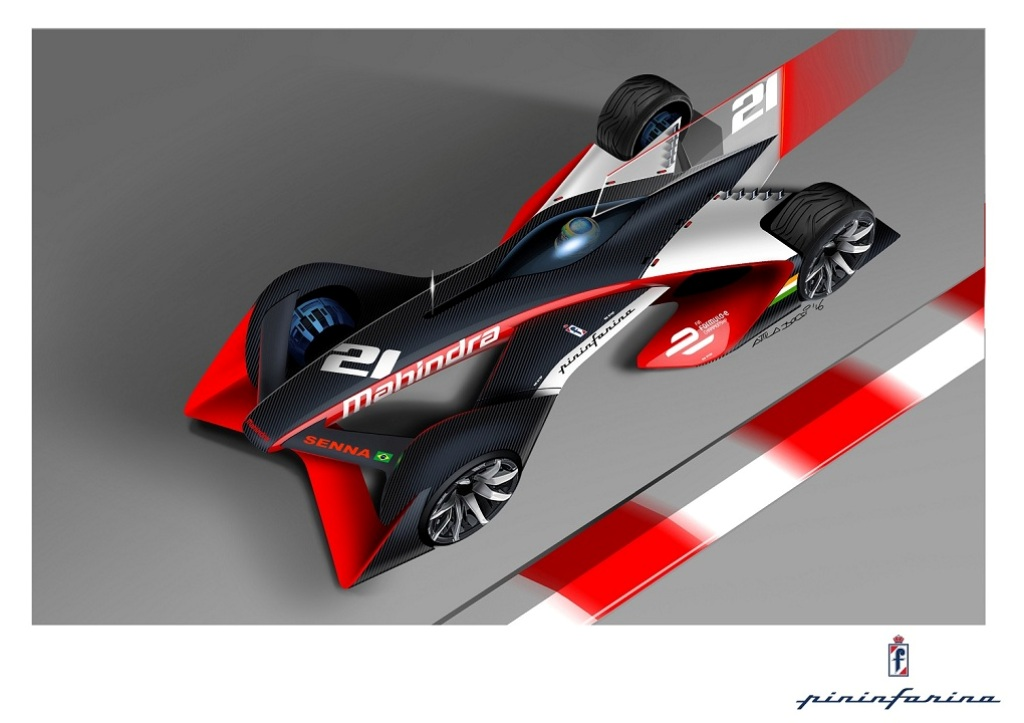 Mahindras new future formula e racing car