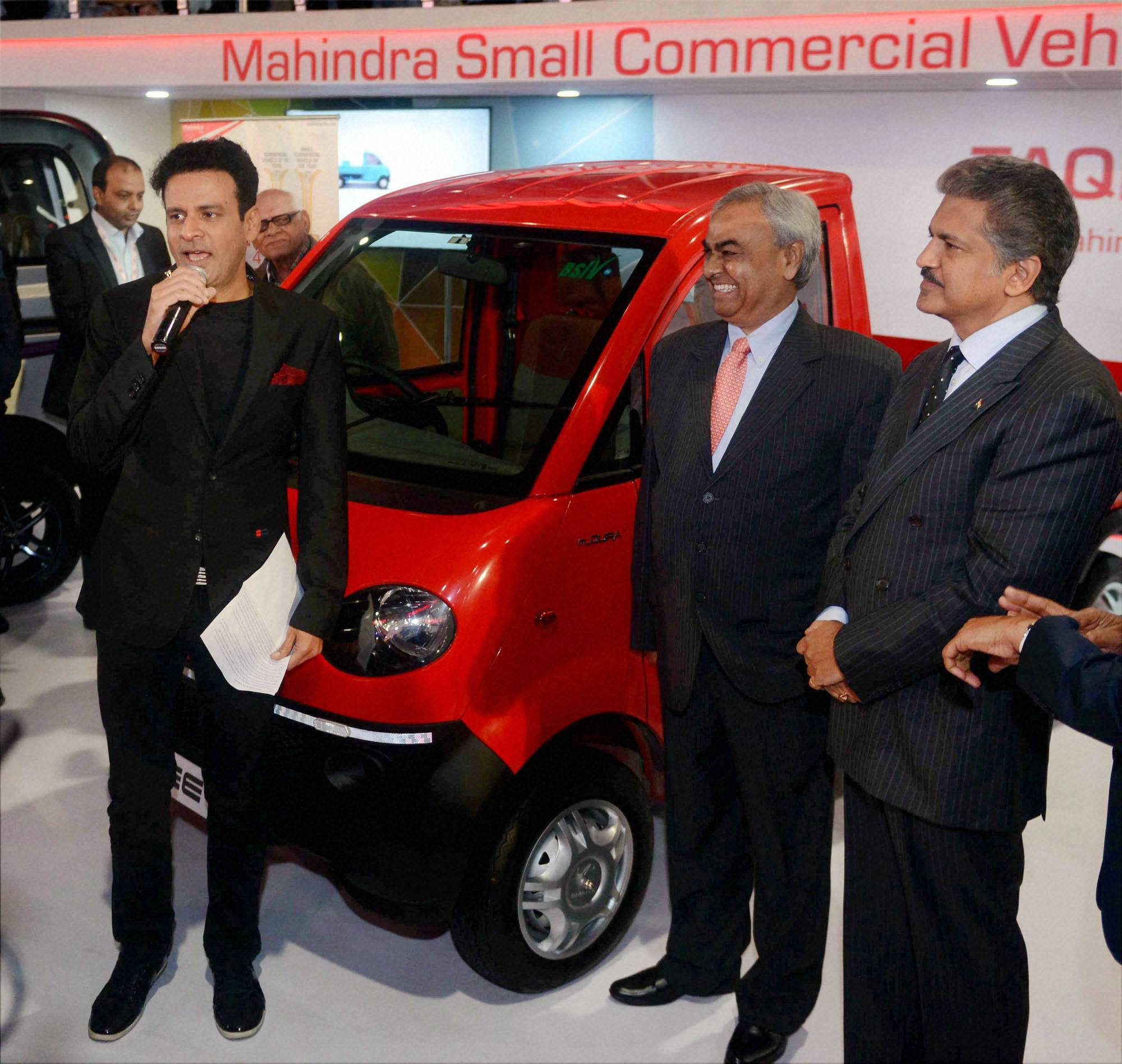 Auto expo 2016 nissan india mahindra launch