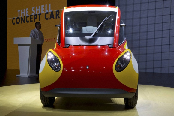 Shell unveils new energy efficient car