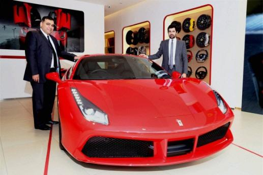Ferrari 488 GTB launched in New Delhi