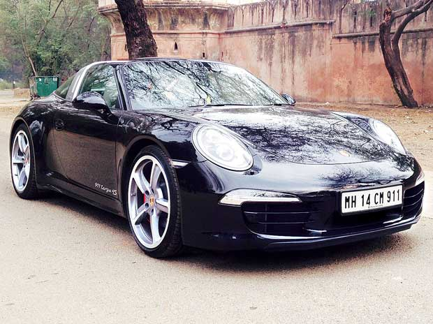 The Porsche 911 Targa 4S
