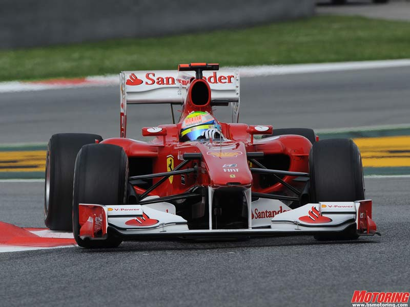 Felipe Massa at Spain