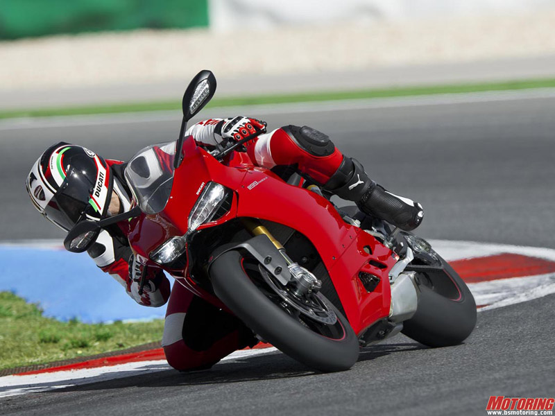 The Ducati 1199 Panigale