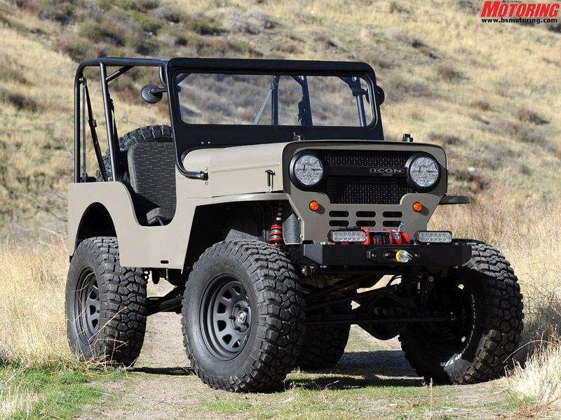 The ICON custom Jeeps