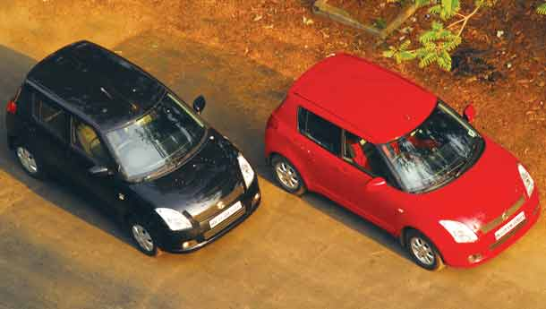 Maruti Suzuki Swift Petrol Vs Diesel : Compare Prices, Reviews & Features