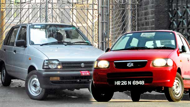 Maruti 800 vs Maruti Suzuki Alto | Compare Prices, Reviews & Features
