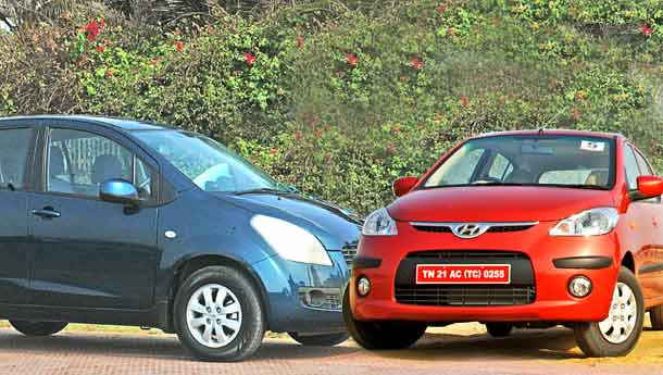 Maruti Suzuki Ritz vs Hyundai i20 : Compare Prices, Reviews & Features