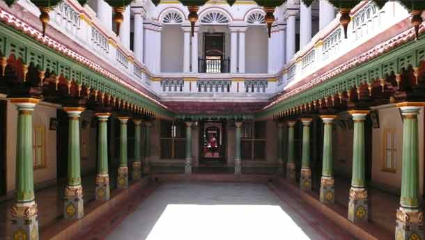 Karaikudi Chettinad - House bound