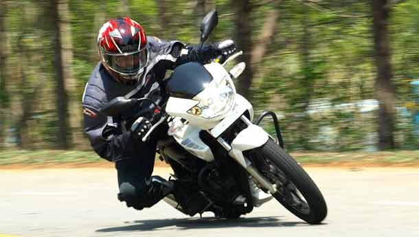 tvs apache rtr 180 little more much better