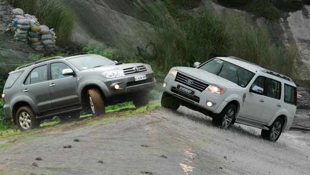 Ford Endeavour vs Toyota Fortuner : Compare Prices, Reviews & Features