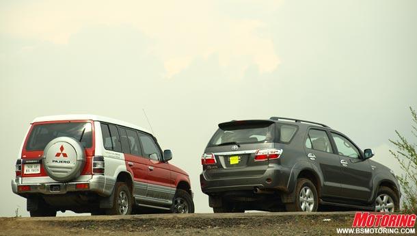 Head To Head : Toyota Fortuner vs Mitsubishi Pajero Go Back | Share