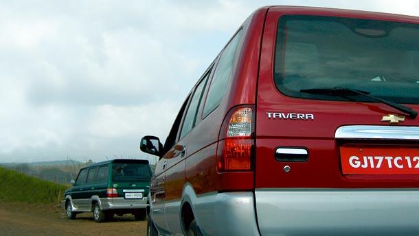 Toyota Qualis Vs Chevrolet Tavera Calling Qualis