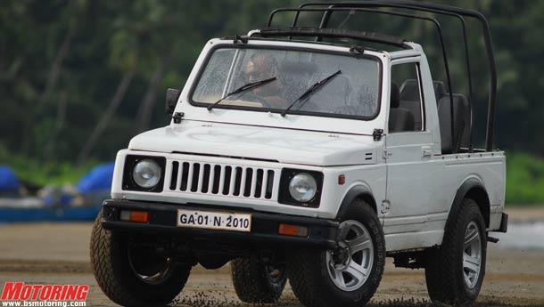 Maruti Suzuki Gypsy Vs Mm 540 Dp Surf Sand And Barking Dogs