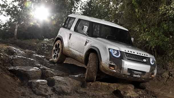 Land Rover Defender Concept � The DC100
