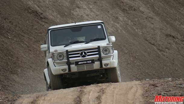 Leh of the Land - Mercedes-Benz G55 AMG & GL350 go off-roading in Ladakh!