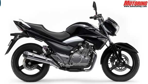 Suzuki unveils the new Inazuma 250cc naked!