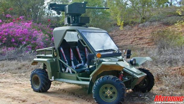 Maini launches the Tomcar military ATVs in India