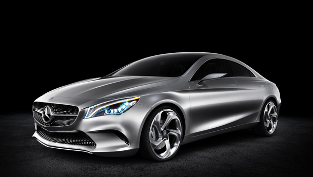 New Mercedes CSC Concept shown ahead of Beijing auto show